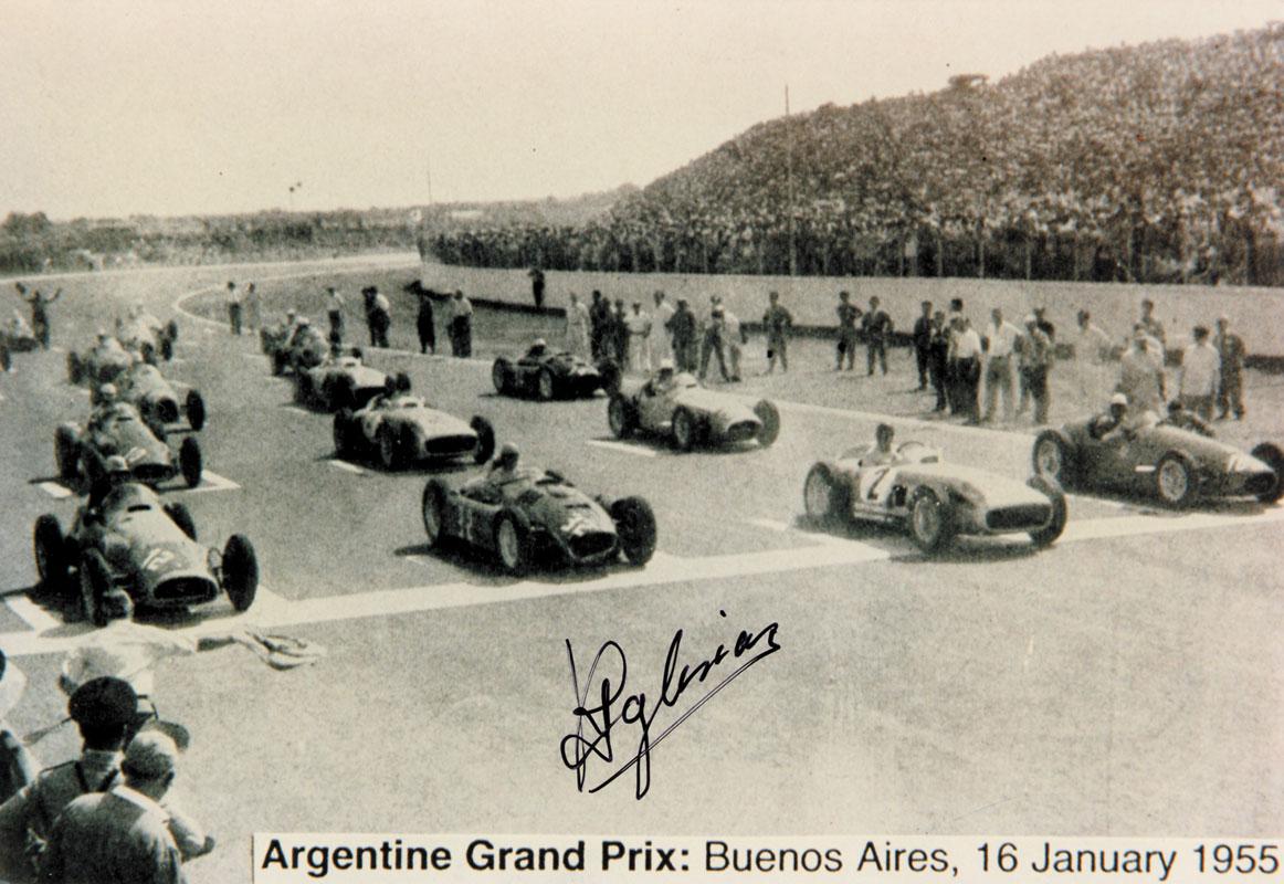 Grand Prix autograph. Jesus Ricardo Iglesias - Grand Prix autograph Jesus Ricardo Iglesias (1922-