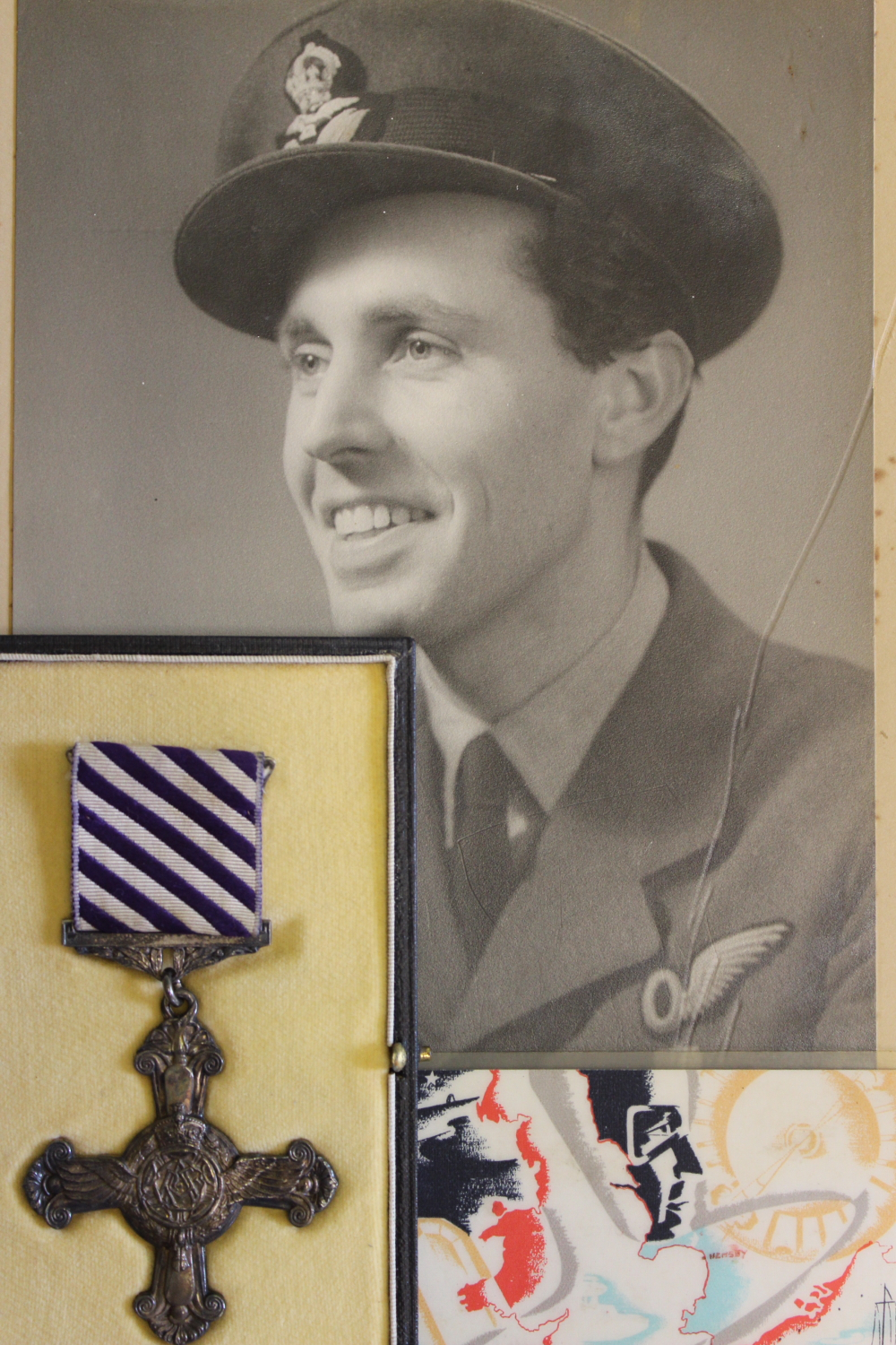 Second World War KIA SOE Distinguished Flying Cross, to 162782 P/O Dudley Northover, dated 1944 to