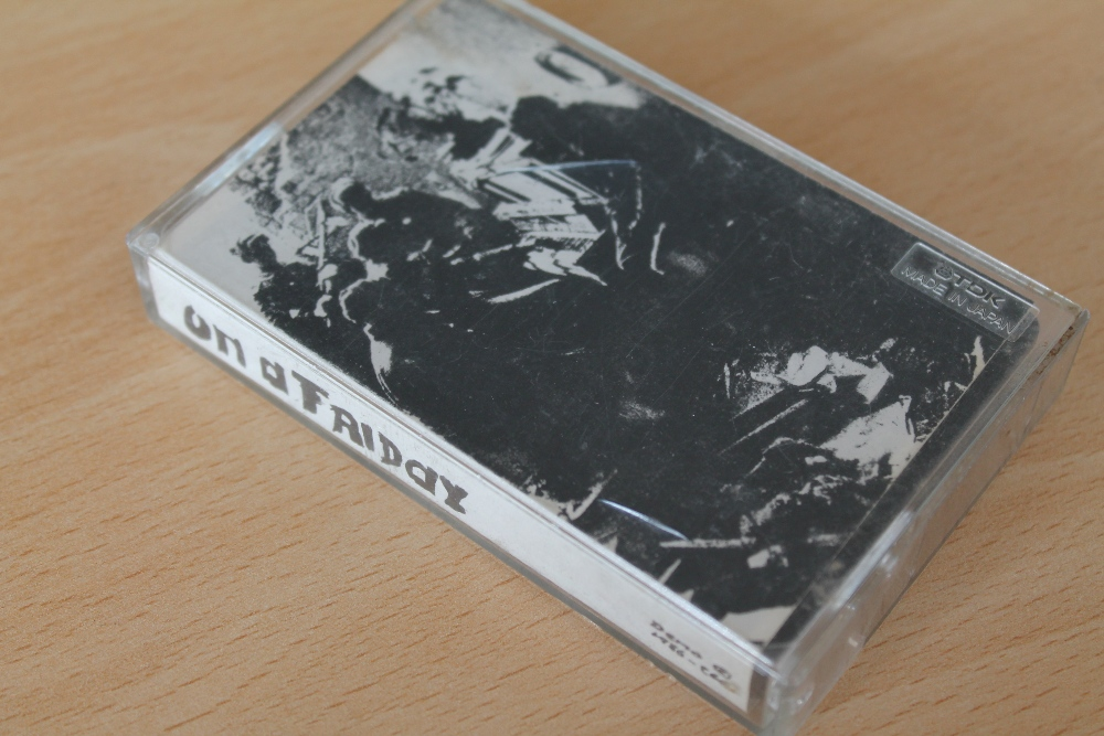 RADIOHEAD - On a Friday - (Demo 1986 OAF) Cassette Rare and Unreleased. A holy grail for Radiohead