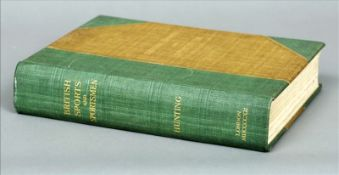 British Sports and Sportsmen, Hunting Binding scuffed/stained, some pages tatty.