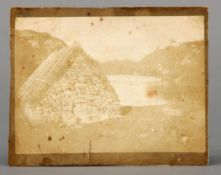 WILLIAM HENRY FOX TALBOT (1800-1877) British Highland Hut on the Banks of Loch Katrine Talbotype