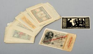 Sixty-four Notgeld bank notes, mainly, Germany/Austria (64)Generally in good condition, expected