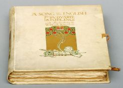 Kipling, Rudyard. A Song of the English. by W. Heath Robinson, published by Hodder & Stoughton,