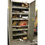 Storage Cabinet,  W/ Contents
