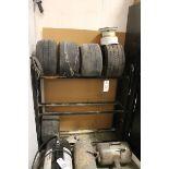 Rack, W/ Contents, Tires