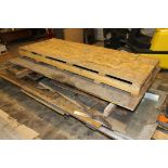 LOT OF ASSORTED SCRAP MATERIAL: misc. drops (stainless steel, aluminum & carbon steel), pipe, tube