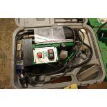 MAGNETIC BASE DRILL, FMT MDL. 303012, 110 v., w/carrying case, S/N N27813  (Location D)