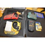 LOT OF LABELING MACHINES, including: IDXPERT hand-held labeler, 3M Mdl. PL100 labeler, Brother P-