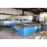 CNC WATERJET CUTTING MACHINE, I.W.M. 6' X 13' CUTTING CAP., new 2012, Mdl. WC4WA4020UB, 8' x 14'