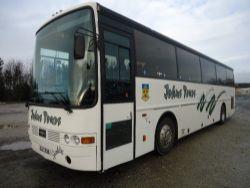 Scania Vanhool Coach, 2 Ford Transit Minibuses & Renault Minibus