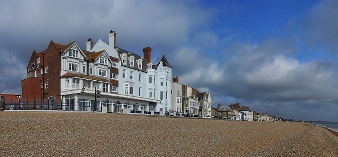 The Brudenell Hotel, Aldeburgh - Enjoy dinner and overnight stay in a sea view room at the Brudenell