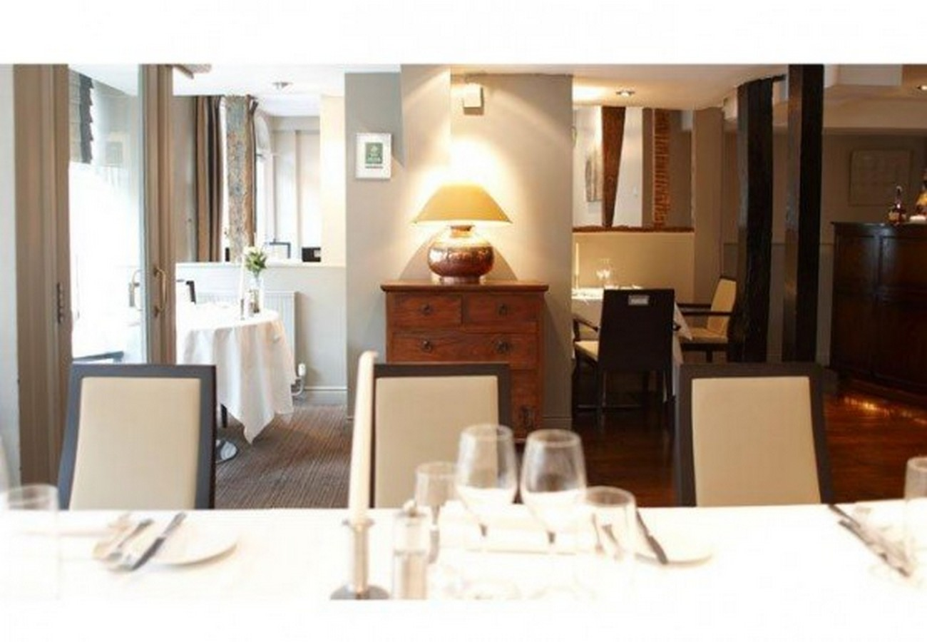 Dinner for 2 at Maison Bleue - Dinner with Champagne for two at Maison Bleue, Bury St Edmunds. A