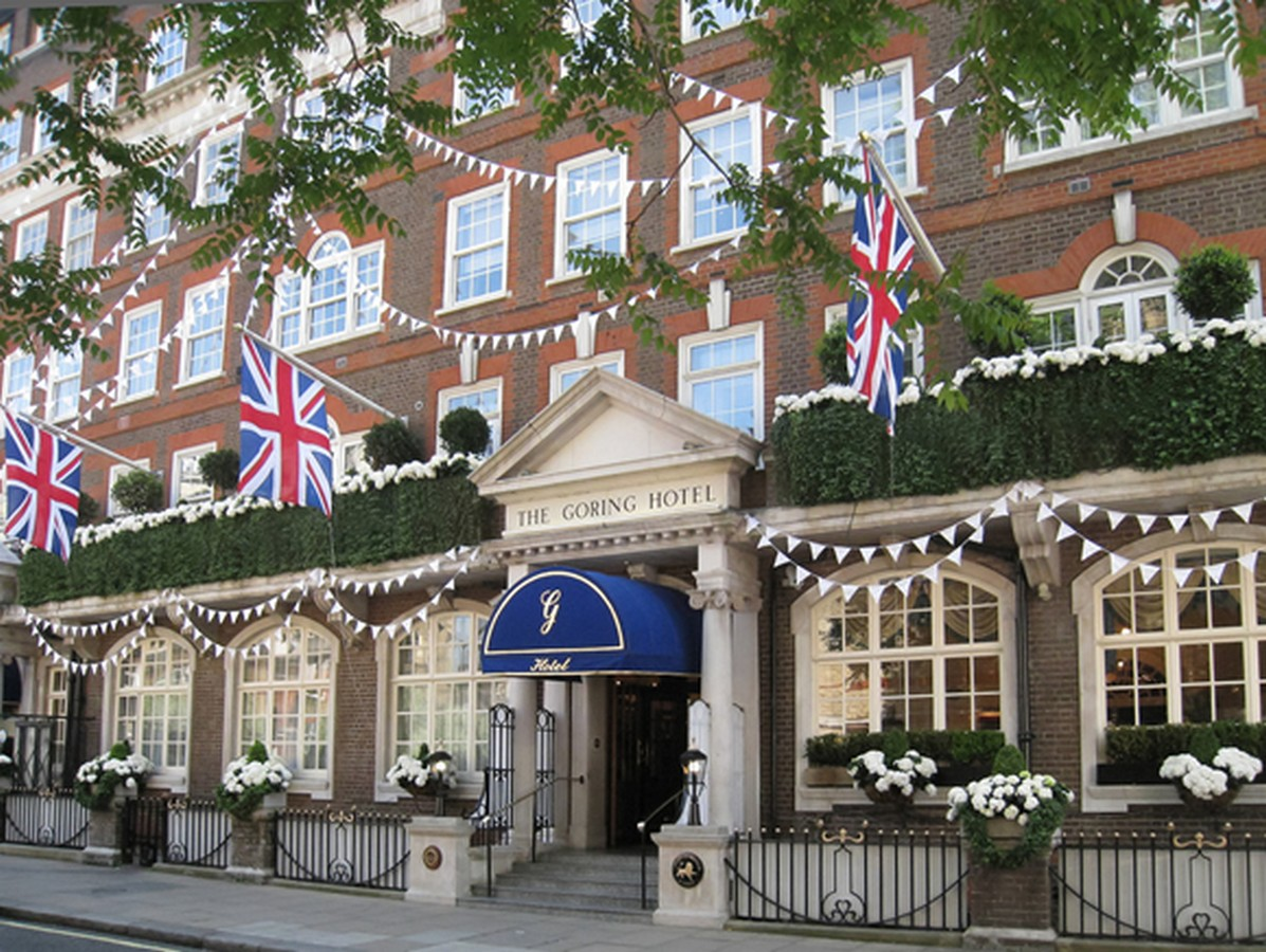 The Goring Hotel, London      - two Guests to enjoy a wonderful overnight stay with a delicious