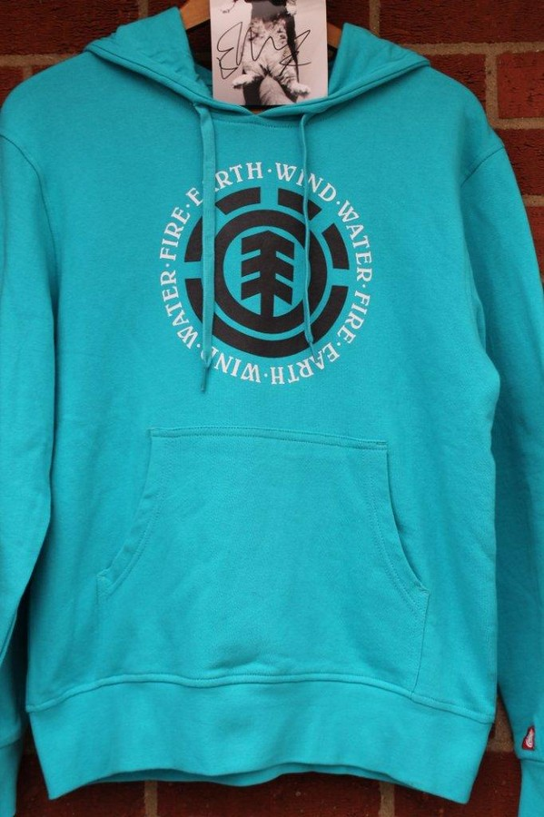 Ed Sheeran Element hoodie top with personally signed postcard label - The hugely popular and