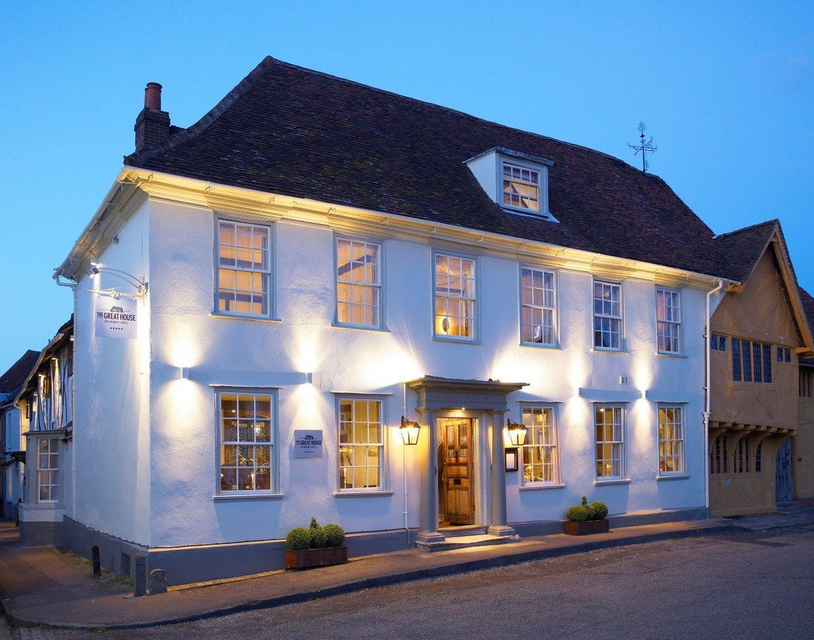 A Special stay in Lavenham - Dinner, Bed and Full English Breakfast for two at The Great House