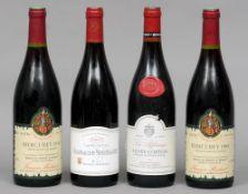 Les Affouages Aloxe-Corton 1995 Together with Les Meurettes Chassagne-Montrachet 2007 and two