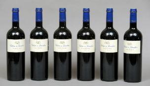 Chateau de Parenchere Cuvee Raphael 2005 Six bottles.  (6)   CONDITION REPORTS:  Generally good.