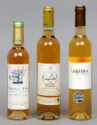 Chateau Richard Cuvee Noble Saussignac 2007 (50 ml) Together with Cantera Saussignac 2007 (50 cl)