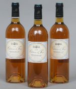 Chateau le Fage Monbazillac 1998 Three bottles.  (3)   CONDITION REPORTS:  Generally good.