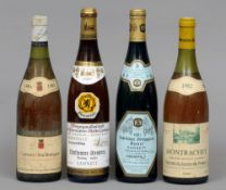Domaine Jacques Prieur Montrachet 1982 Together with Louis Max Corton-Charlemagne 1984, two