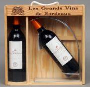 Chateau Guillaume Blanc Bordeaux Superieur 2006 Two bottle gift set.  (2)   CONDITION REPORTS: