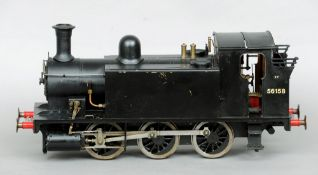 """A Scratch built 3.5"""" 060 gauge tank engine """"Rob Roy"""" Together with a full set of technical drawings."""