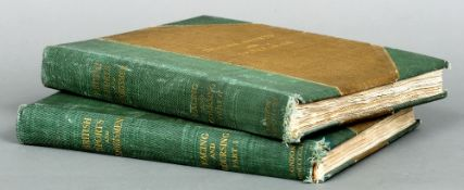 British Sports and Sportsmen: Racing and Coursing Volumes I and II.   CONDITION REPORTS:  Binding