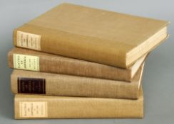 Four volumes of Racing in America 1665-1865 in two volumes, 1937-1959 and 1960-1979.  Each 33.5
