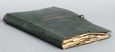 Herbarium Pharmaceuticum. A folio containing various plant specimens.  35.5 cms high.   CONDITION