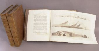 Captain James Cook.  A Voyage to the Pacific Ocean. B. Hughes, London, 1785.  Third edition, volumes