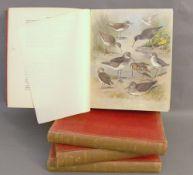 Archibald Thorburn.  British Birds. Longemans Green & Co., London 1918, 4th edition, volumes I-IV.