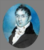 ENGLISH SCHOOL (19th century) Portrait of William Henry Baker, ship broker and Vice-Consul for