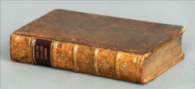CIBBER. Plays Written by Mr Cibber In two volumes, first collected edition 1721, original calf