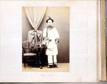 A late 19th/early 20th century photograph album by Sir Benjamin Simpson (1831-1923) Containing
