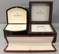 THREE AUDEMARS PIGUET WRIST WATCH BOXES CIRCA 1990/2000s  CONDITION REPORT All boxes are in good