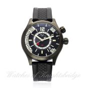 A GENTLEMAN`S DLC & STEEL CASED BALL WATCH COMPANY AUTOMATIC GMT CHRONOGRAPH WRIST WATCH DATED 2012,