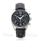 A GENTLEMAN`S STAINLESS STEEL BELL & ROSS VINTAGE 126 AUTOMATIC CHRONOGRAPH WRIST WATCH DATED