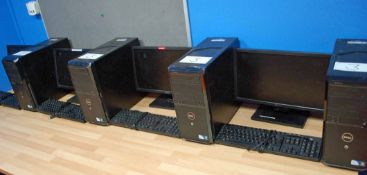 The I.T. Computers and Business Equipment including: Six HEWLETT PACKARD Pro 3100 Series Minitower