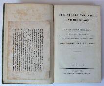Reserve: 10 EUR        Der Nibelunge Noth und die Klage; nach der ältesten Überlieferung; 2.