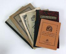 Reserve: 60 EUR        Hohentwiel 5 div. Bücher/Hefte über Hohentwiel; aus der Zeit von 1879-1918;