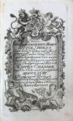 Reserve: 150 EUR        Wappen Calender Eins Churbayerischen Hohen RITTER ORDENS auf das Jahr 1768
