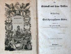 """Reserve: 250 EUR        Beschreibung des Großherzogthums Baden aus """"Der Erdball und seine Völker"""";"""