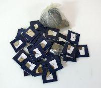 Reserve: 50 EUR        Münzsammlung Lederbeutel gefüllt mit div. Münzen