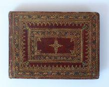 Reserve: 80 EUR        Stammbuch Joh. Jacob Spengler d. Älteren von St. Gallen (17.Jh.) Qu.-12°; 101