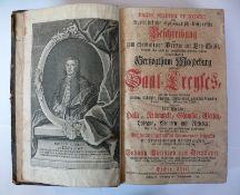 """Reserve: 900 EUR        Dreyhaupt, Johann """"Herzogthum Magdeburg""""; ausführliche diplomatisch-"""