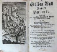 Reserve: 150 EUR        Die Güldne Bull KAYSER Carl des IV Franckfurt am Mayn bey Johann Friedrich