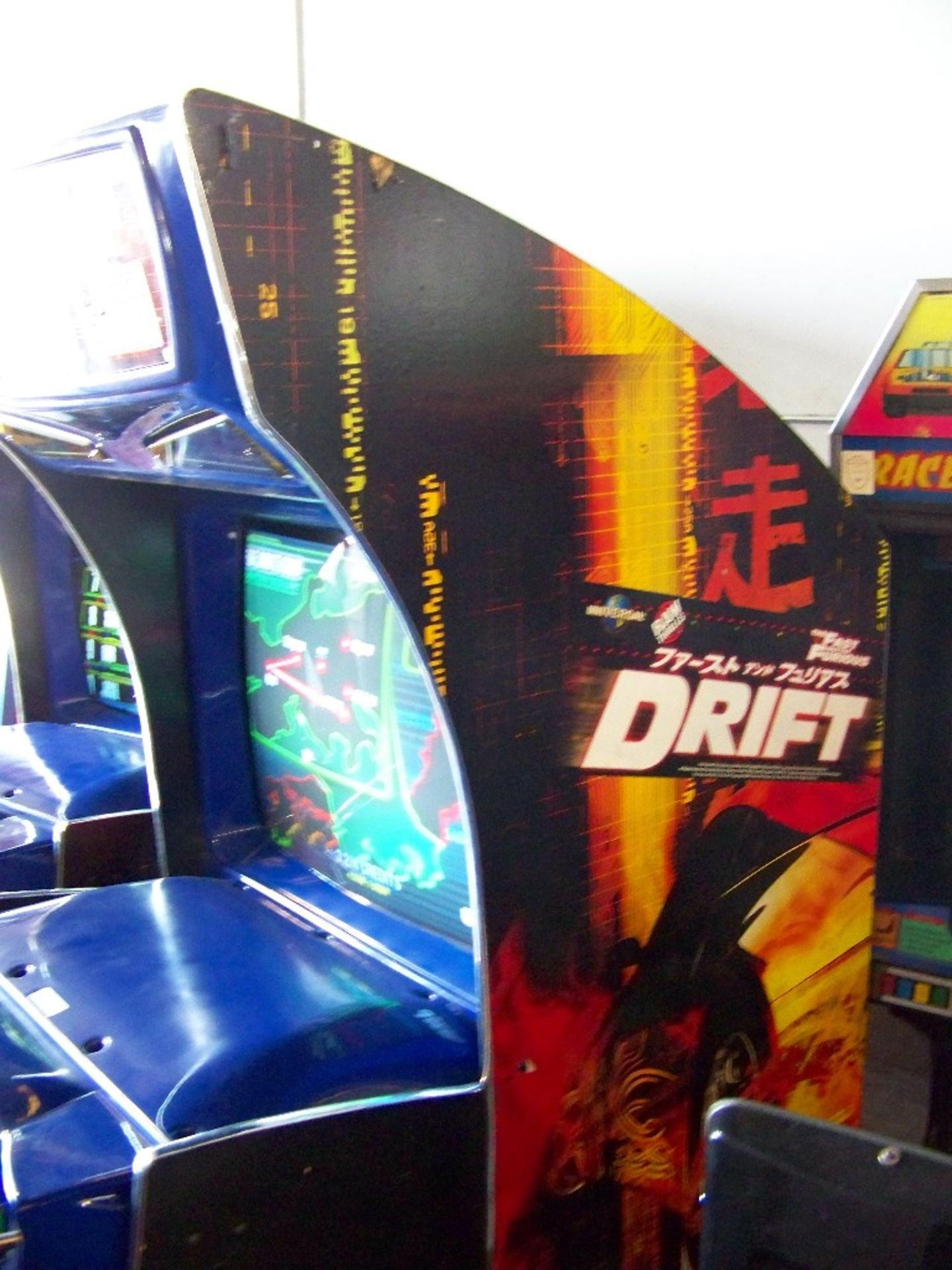 """DRIFT FAST & FURIOUS 31"""" DX RACING ARCADE GAME - Image 5 of 5"""