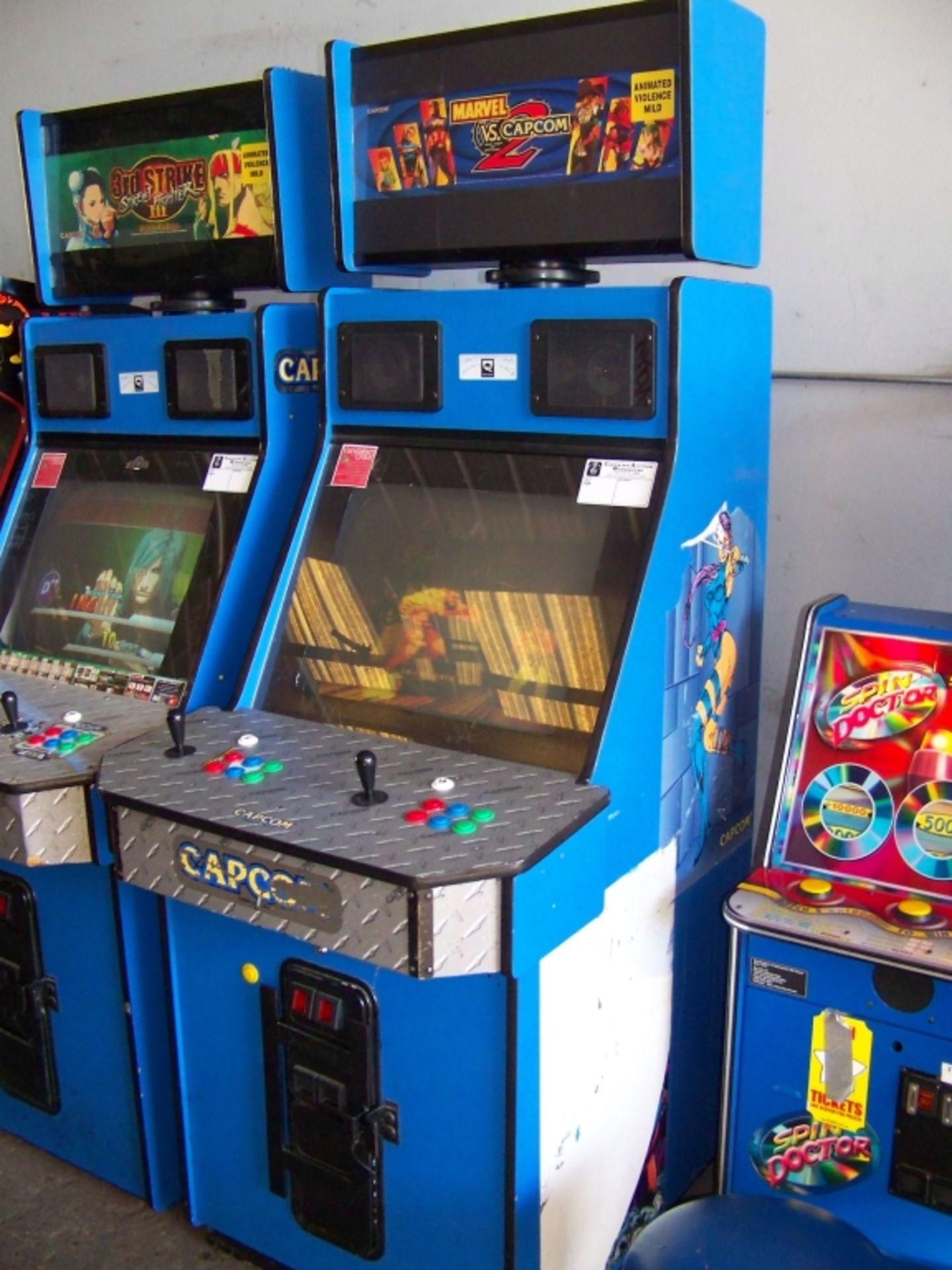 MARVEL VS. CAPCOM 2 ARCADE GAME Q SOUND CAB