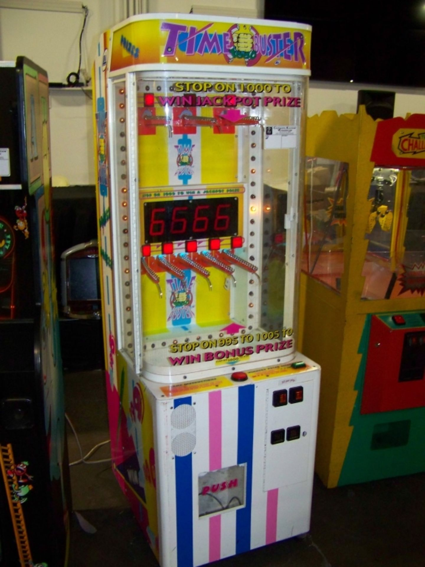 TIME BUSTERS PRIZE REDEMPTION GAME LAI GAMES