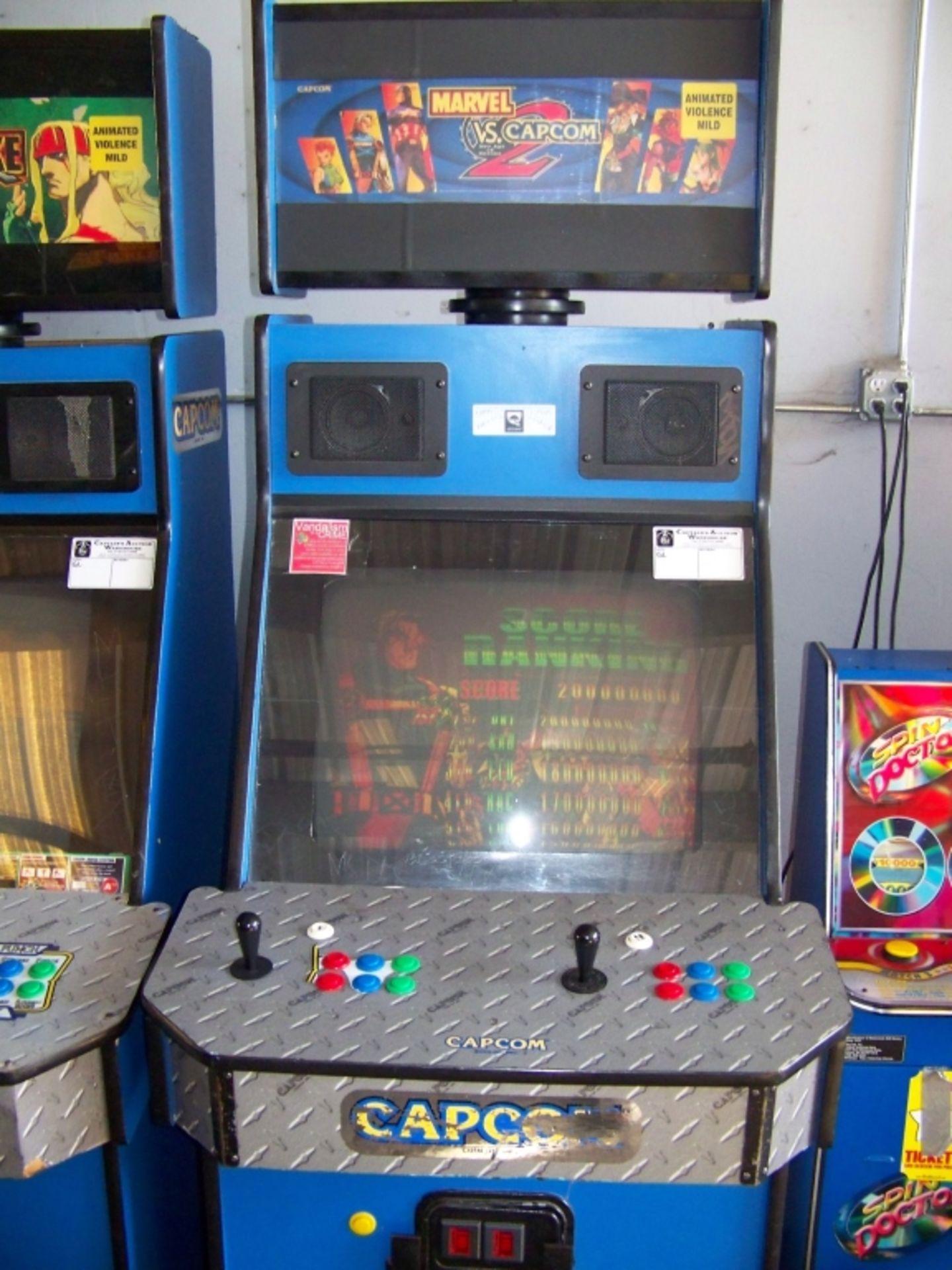 MARVEL VS. CAPCOM 2 ARCADE GAME Q SOUND CAB - Image 3 of 3